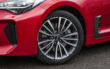 Kia Stinger GT line 2018 review alloy wheels
