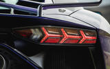 Lamborghini Aventador SVJ 2019 road test review - rear lights