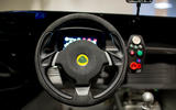 Lotus 3-Eleven 430 review steering wheel