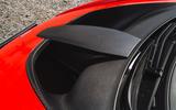 McLaren Senna 2018 road test review - bonnet vents