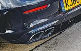 Mercedes-AMG C63 Coupé 2019 road test review - exhausts