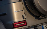 Mercedes-AMG G63 2018 review rear badge