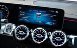Mercedes-AMG GLB 35 2020 road test review - infotainment