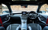 Mercedes-AMG GLC 43 road test review - dashboard