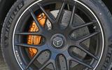 Mercedes-AMG GLC 63 S road test review brake calipers