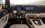 Mercedes-AMG GLS 63 2020 road test review - dashboard