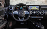 Mercedes-Benz A-Class saloon 2018 review - dashboard