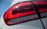 Mercedes-Benz A250e 2020 road test review - rear lights