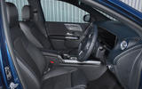 Mercedes-Benz B-Class 2019 road test review front seats