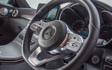 Mercedes-Benz C-Class Coupe 2019 review - steering wheel