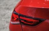 Mercedes-Benz CLA 2019 road test review - rear lights