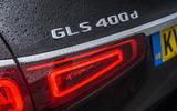 Mercedes-Benz GLS 2020 road test review - rear lights