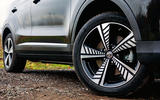 MG ZS EV 2019 road test review - alloy wheels