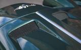 Morgan Plus Six 2019 road test review - bonnet aero