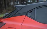 Nissan Juke 2020 road test review - C pillar