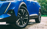 Peugeot e-2008 2020 road test review - alloy wheels