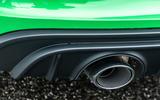 Porsche 718 Boxster GTS 4.0 2020 road test review - exhaust