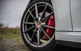 Porsche 911 Carrera S 2019 road test review - alloy wheels
