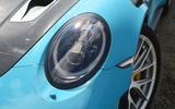 Porsche 911 GT2 RS 2018 road test review headlights