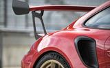 Porsche 911 GT3 RS 2018 review rear end