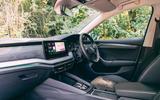 Skoda Octavia Estate 2020 road test review - cabin