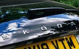 Skoda Scala 2019 road test review - rear bumper