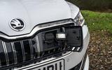 Skoda Superb iV 2020 road test review - charging port
