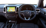 Ssangyong Musso Saracen 4x4 2018 road test review dashboard