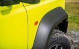 Suzuki Jimny 2018 road test review - wheel arches