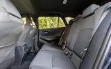 7 suzuki swace 2021 uk first drive review rear seats