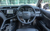 Toyota Camry 2019 review - dashboard