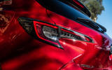 Toyota Corolla hybrid hatchback 2019 road test review - rear lights