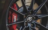 7 Toyota GR Yaris 2021 UK road test review brake calipers