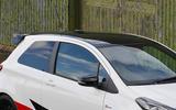Toyota Yaris GRMN roof