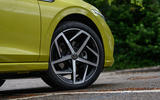 Volkswagen Golf 2020 road test review - alloy wheels