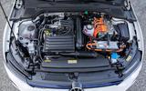 Volkswagen Golf GTE 2020 road test review - engine