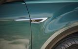 Volkswagen T-Roc Cabriolet 2020 road test review - side badge