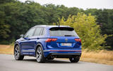 Volkswagen Tiguan R road test review - on the road rear