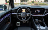 Volkswagen Touareg R road test review - dashboard