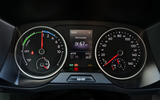 Volkswagen e-Crafter 2018 review - instrument cluster