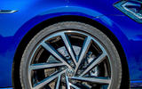 Volkswagen Golf R 2019 road test review - alloy wheels