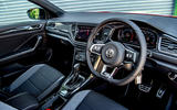 Volkswagen T-Roc 2019 road test review - steering wheel