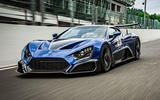 Zenvo TSR-S 2020 road test review - pit wall