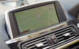 BMW 640d iDrive infotainment