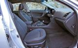 Kia Optima 1.7 CRDi interior