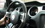 Ford Mustang Shelby GT500 dashboard