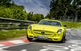 Mercedes SLS AMG Electric Drive smashes Nürburgring electric lap record