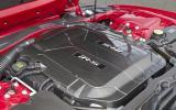5.0-litre V8 Jaguar XKR-S engine