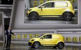 Volkswagen e-load Up shown in Frankfurt