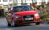 Audi A1 1.2 TFSI S Line cornering